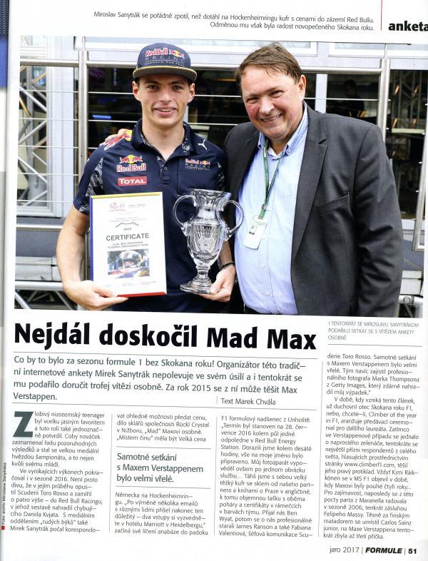 Skokan roku F1